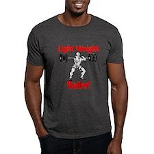 Light weight baby Black T-Shirt