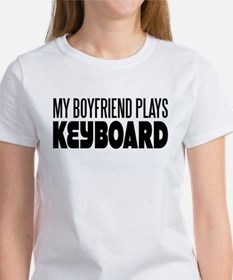 My Boyfriend Plays Keyboard Tee