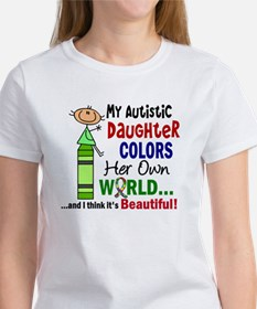 Colors Own World Autism Tee