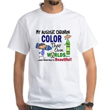 Colors Own World Autism Shirt