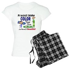 Colors Own World Autism Pajamas