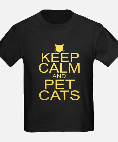 Keep Calm and Pet Cats T
