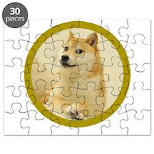 Cute Bitcoin logo Puzzle