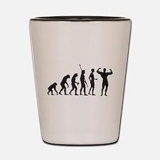 Cute Evolutionism Shot Glass