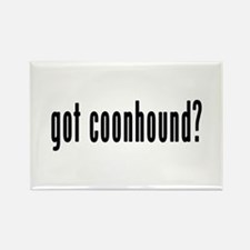 GOT COONHOUND Rectangle Magnet