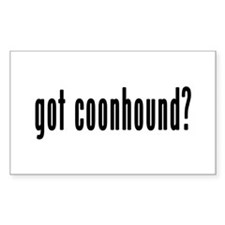 GOT COONHOUND Decal