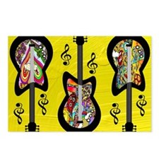 Psychedelic Guitars Postcards (Package of 8)