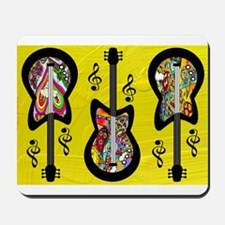 Psychedelic Guitars Mousepad