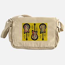 Psychedelic Guitars Messenger Bag