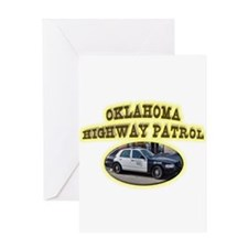 Oklahoma Highway Patrol Greeting Card