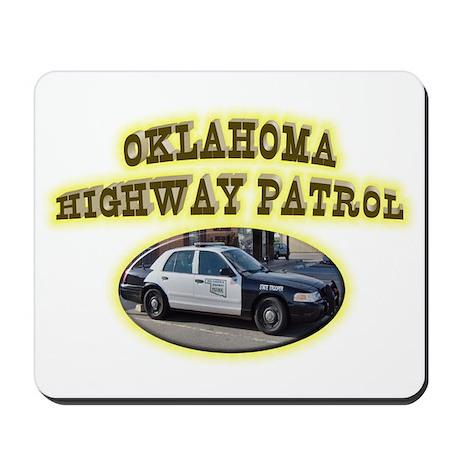 Oklahoma Highway Patrol Mousepad