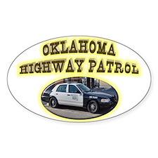 Oklahoma Highway Patrol Decal