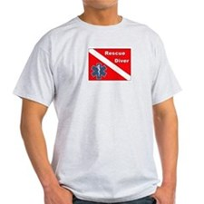 3-star diver logo T-Shirt