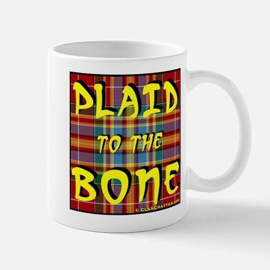 Plaid to the Bone Mug