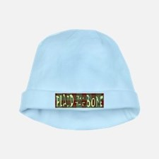 Plaid to the Bone baby hat