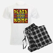 Plaid to the Bone pajamas