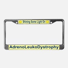 Cute Adrenoleukodystrophy License Plate Frame