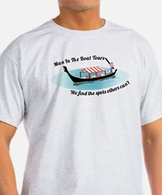 Man in the Boat T-Shirt