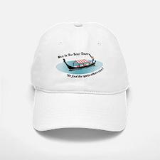 Man in the Boat Baseball Baseball Cap