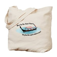 Man in the Boat Tote Bag