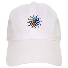 Sun Rainbow Baseball Cap