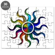 Sun Rainbow Puzzle