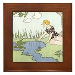 Price's Frog Prince Framed Tile