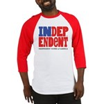 Independent Voters of America Baseball Jersey