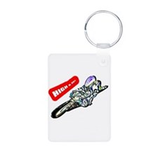high and dry Keychains