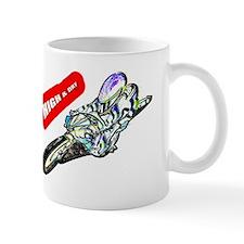 high and dry Mug