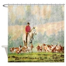 Foxhunt Shower Curtain