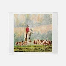 Foxhunt Throw Blanket