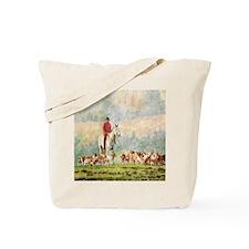 Foxhunt Tote Bag