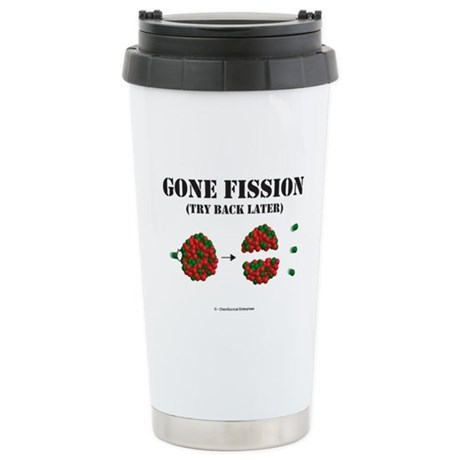 Gone Fission Stainless Steel Travel Mug
