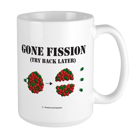 Gone Fission Large Mug