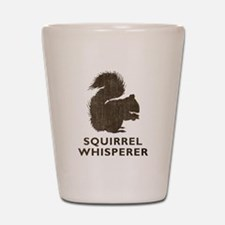 Vintage Squirrel Whisperer Shot Glass