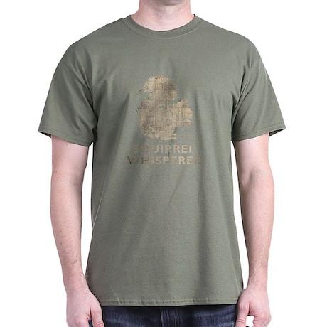Vintage Squirrel Whisperer Dark T-Shirt