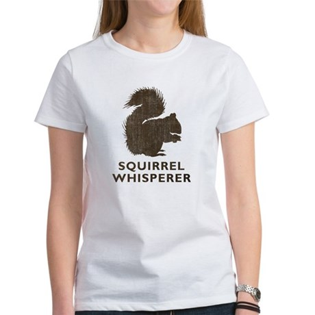 Vintage Squirrel Whisperer Women's T-Shirt