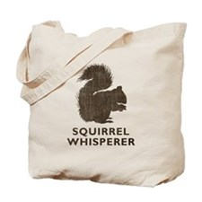 Vintage Squirrel Whisperer Tote Bag