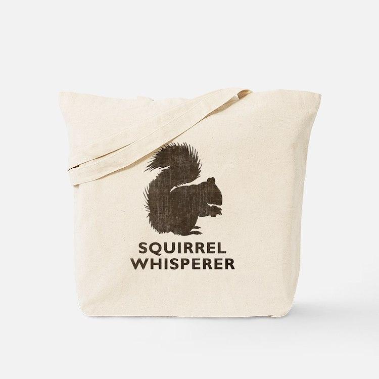 Vintage Squirrel Whisperer Tote Bag