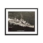 USS STICKELL Framed Panel Print