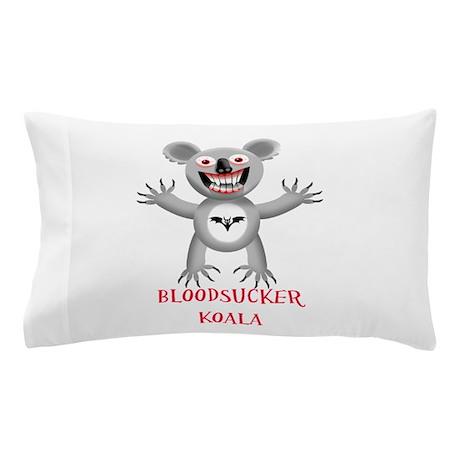 Bloodsucker Koala Pillow Case