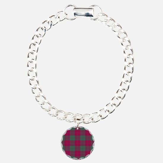 Tartan - Erskine Charm Bracelet, One Charm