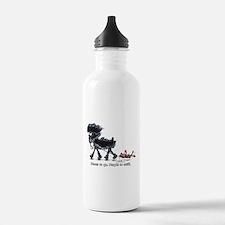 Affenpinscher Places Water Bottle