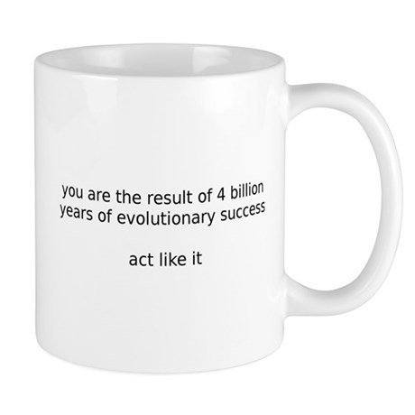 Evolutionary Success Coffee Cup Mugs