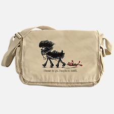 Affenpinscher Places Messenger Bag