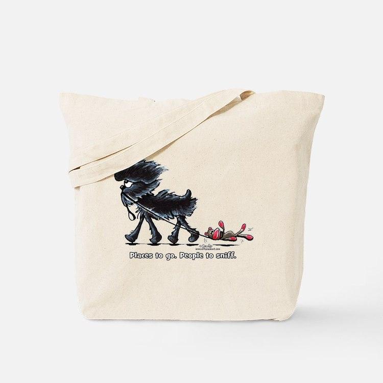 Affenpinscher Places Tote Bag