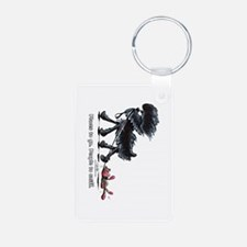 Affenpinscher Places Keychains
