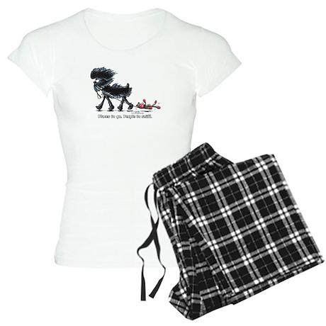 Affenpinscher Places Xpress Women's Light Pajamas