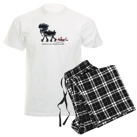 Affenpinscher Places Xpress Men's Light Pajamas